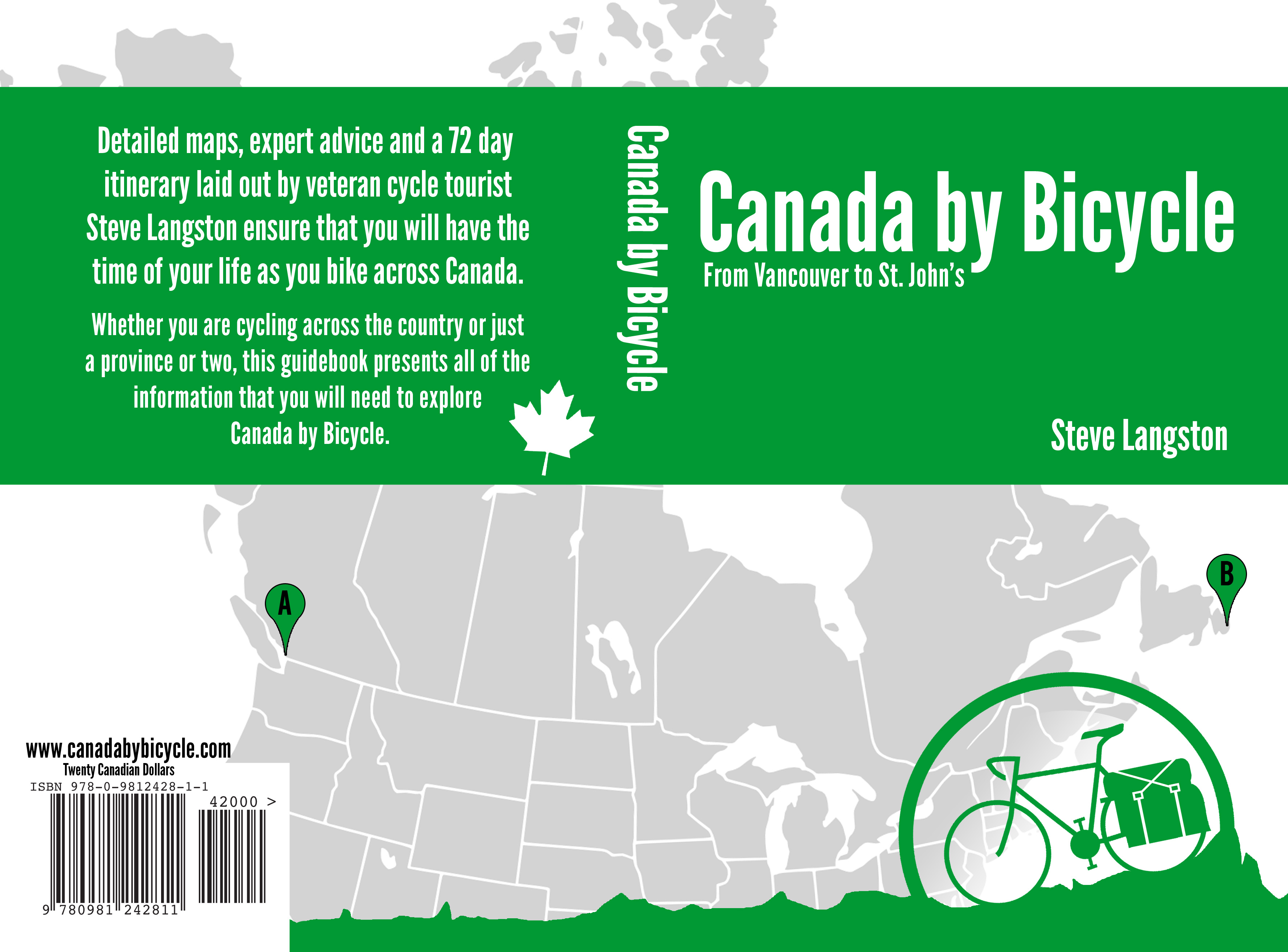 Cover of Canada by Bicycle